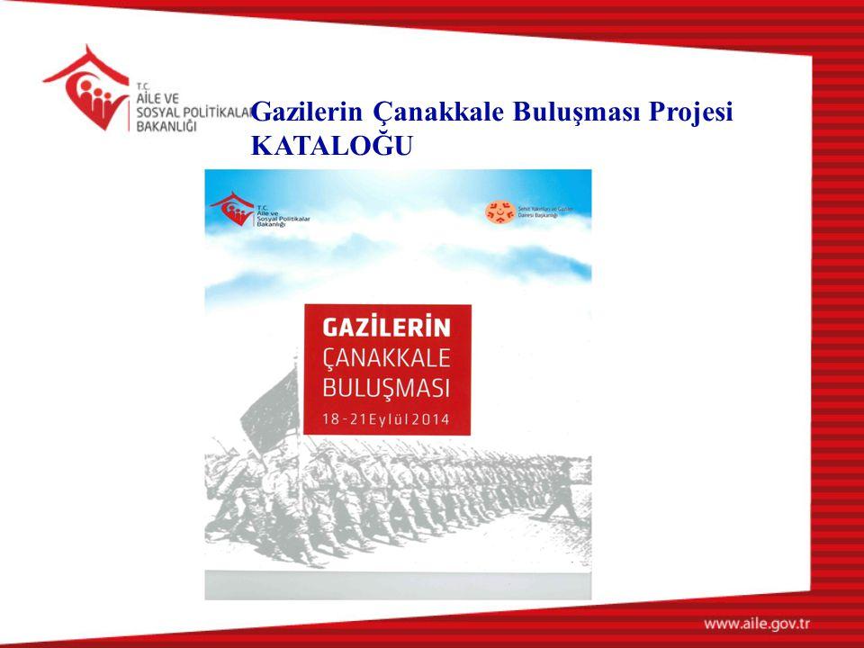 Gazilerin Çanakkale Buluşması Projesi