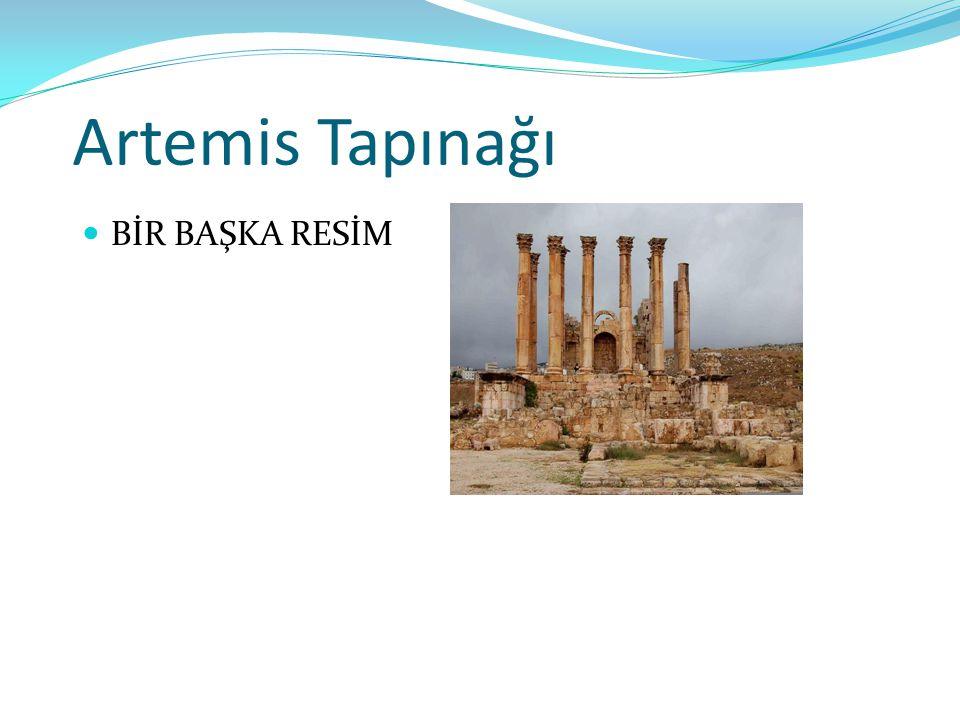Artemis Tapınağı BİR BAŞKA RESİM