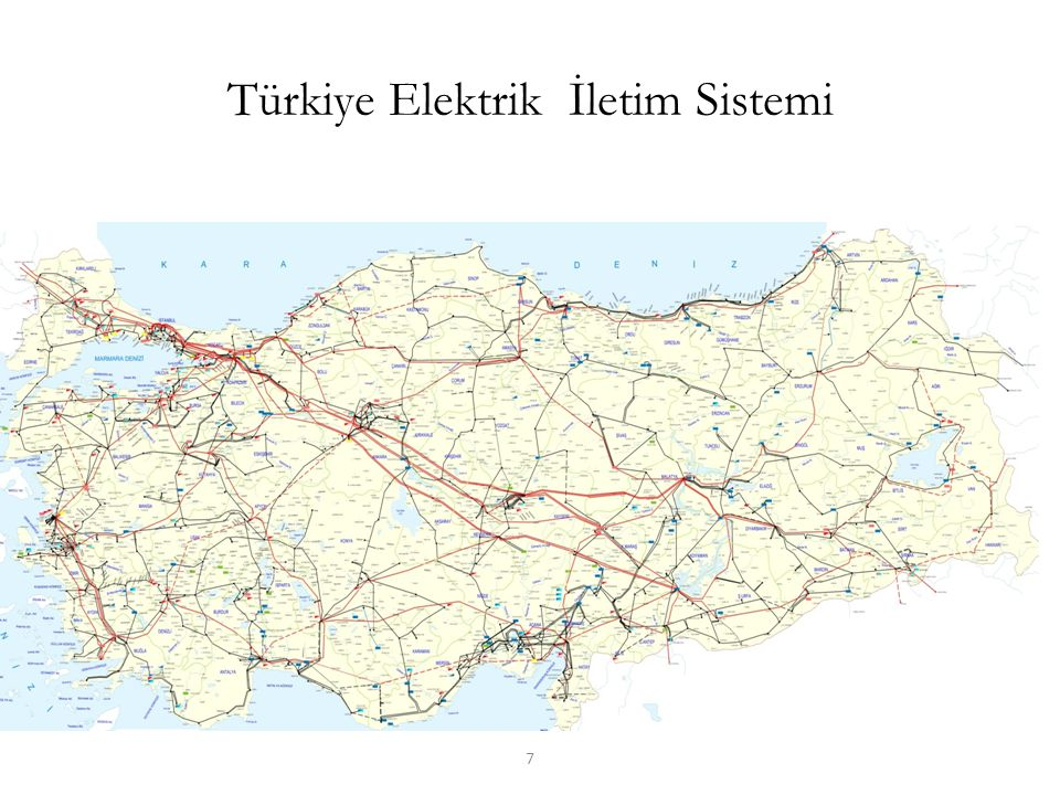 Türkiye Elektrik İletim Sistemi