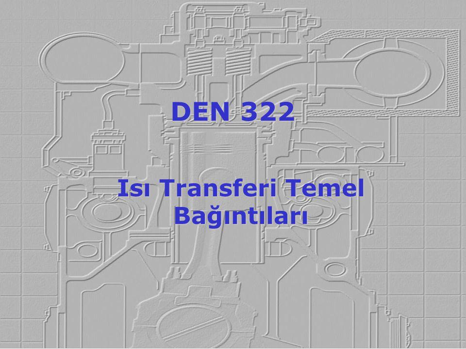 Isı Transferi Temel Bağıntıları