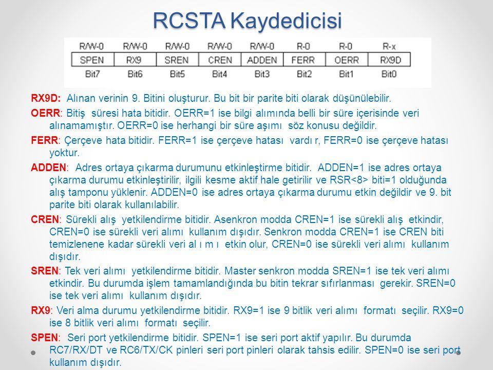 RCSTA Kaydedicisi