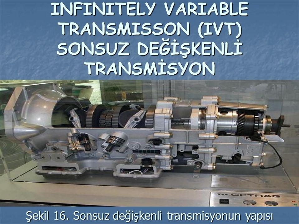 INFINITELY VARIABLE TRANSMISSON (IVT) SONSUZ DEĞİŞKENLİ TRANSMİSYON