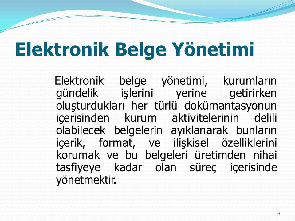 Elektronik Belge Yönetimi