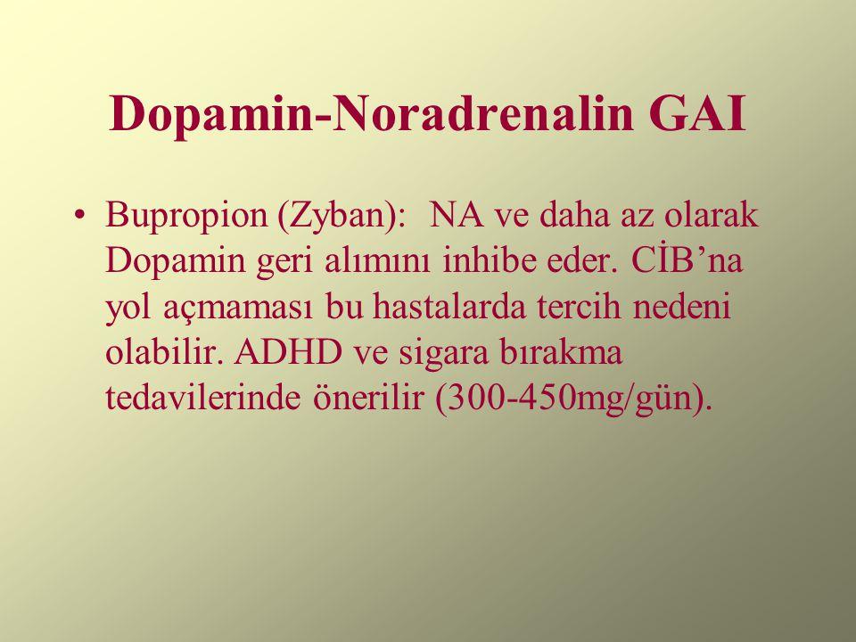 Dopamin-Noradrenalin GAI