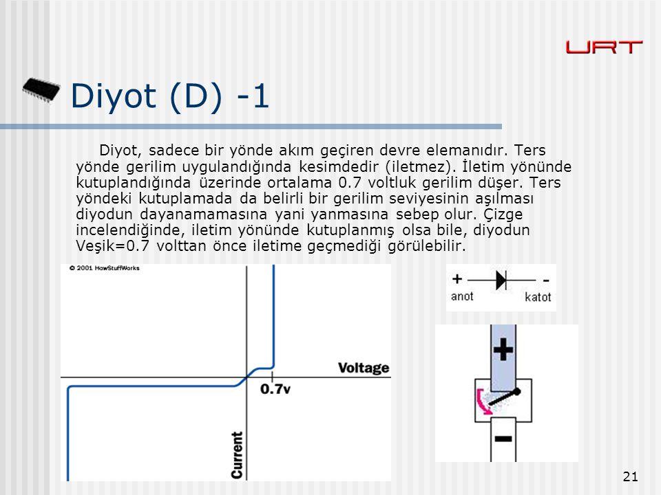 Diyot (D) -1