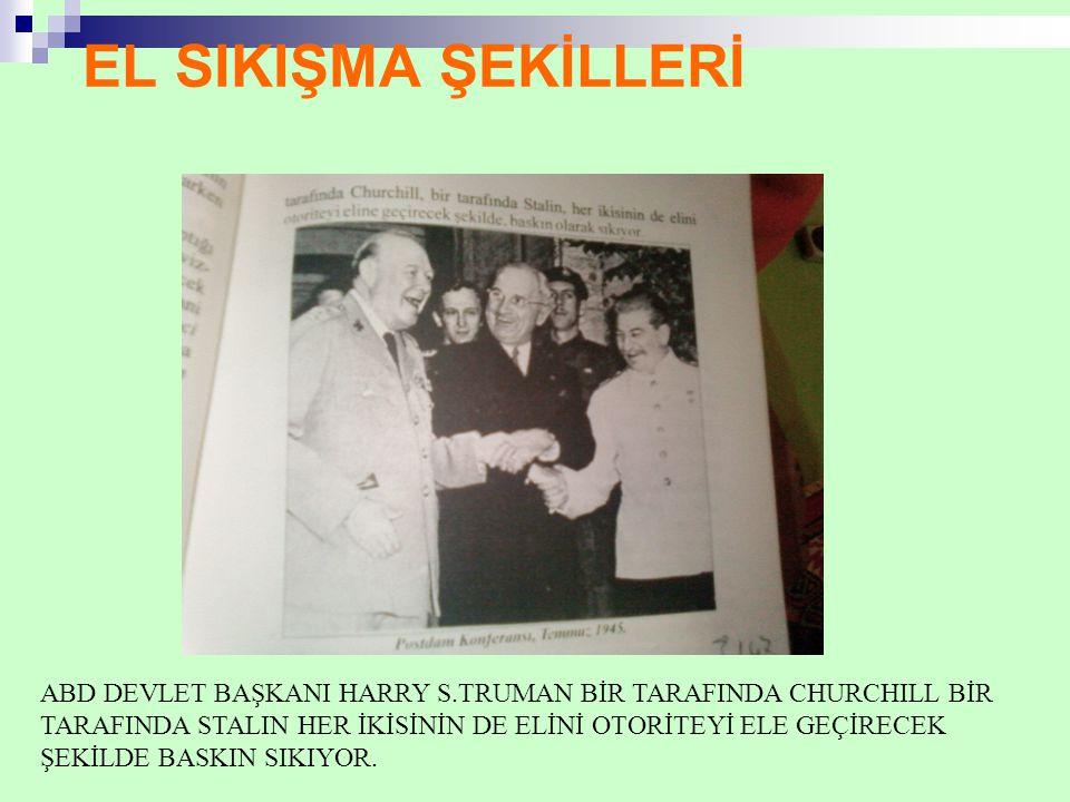 EL SIKIŞMA ŞEKİLLERİ