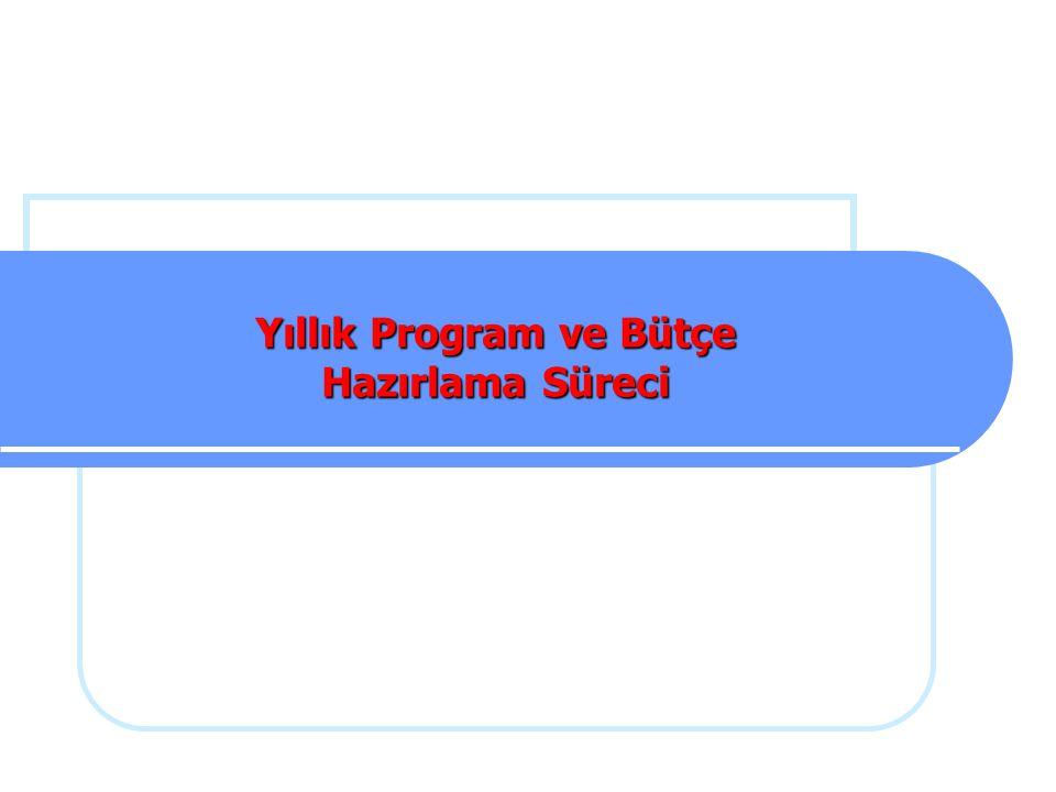 Yıllık Program ve Bütçe