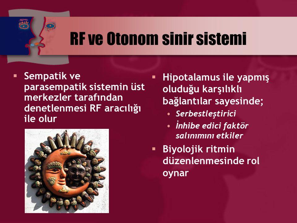 RF ve Otonom sinir sistemi