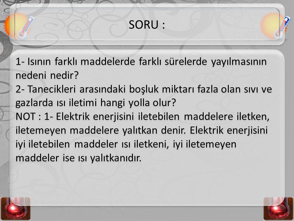 SORU :