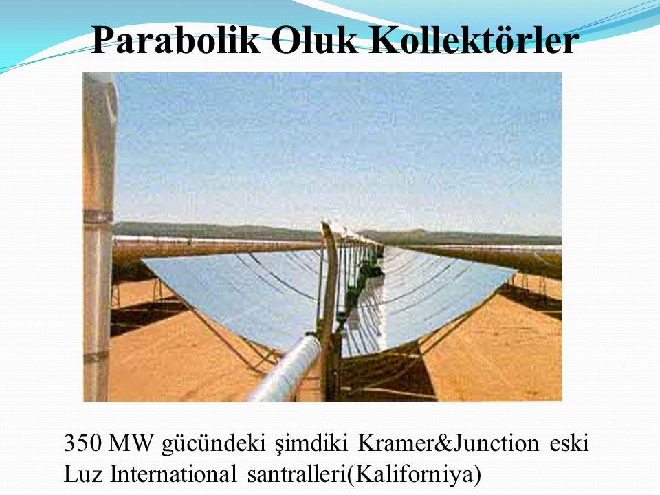 Parabolik Oluk Kollektörler