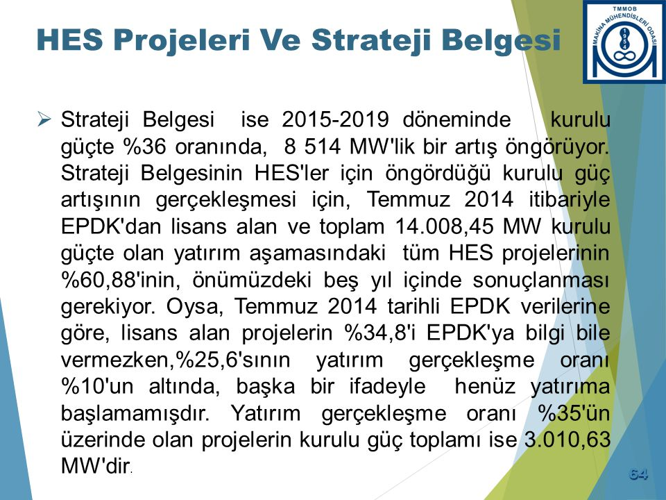 HES Projeleri İçin Bazı Öneriler (1)