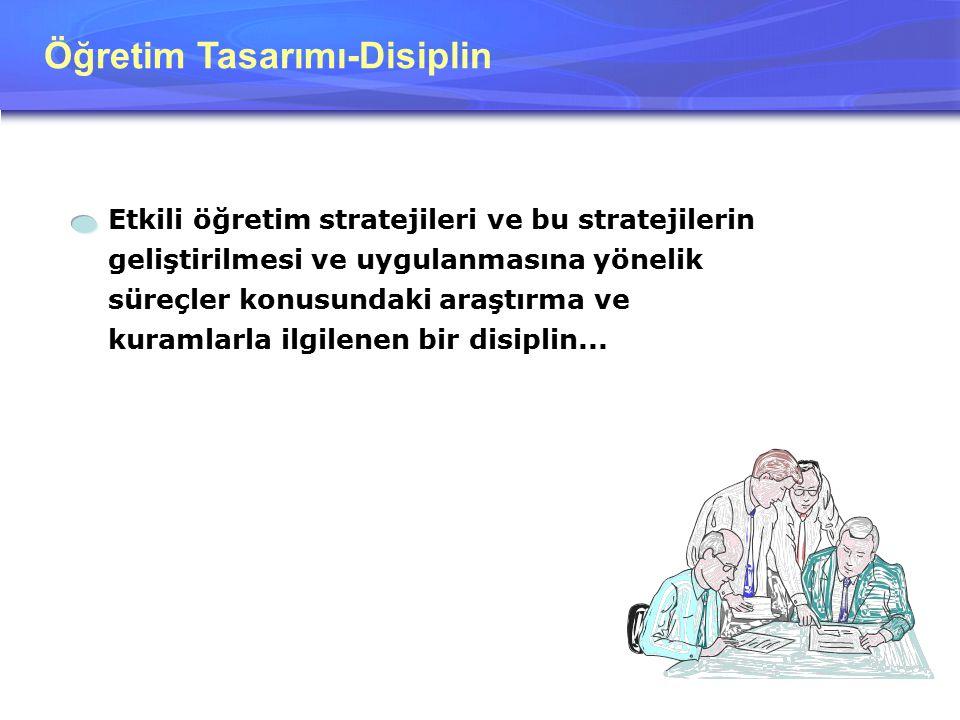 Öğretim Tasarımı-Disiplin