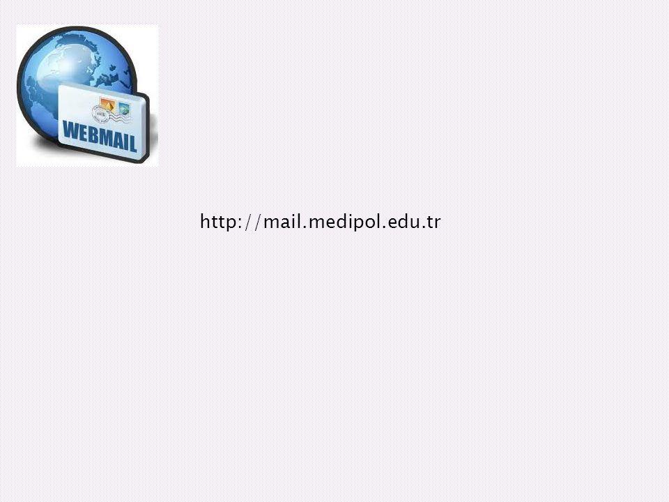 http://mail.medipol.edu.tr