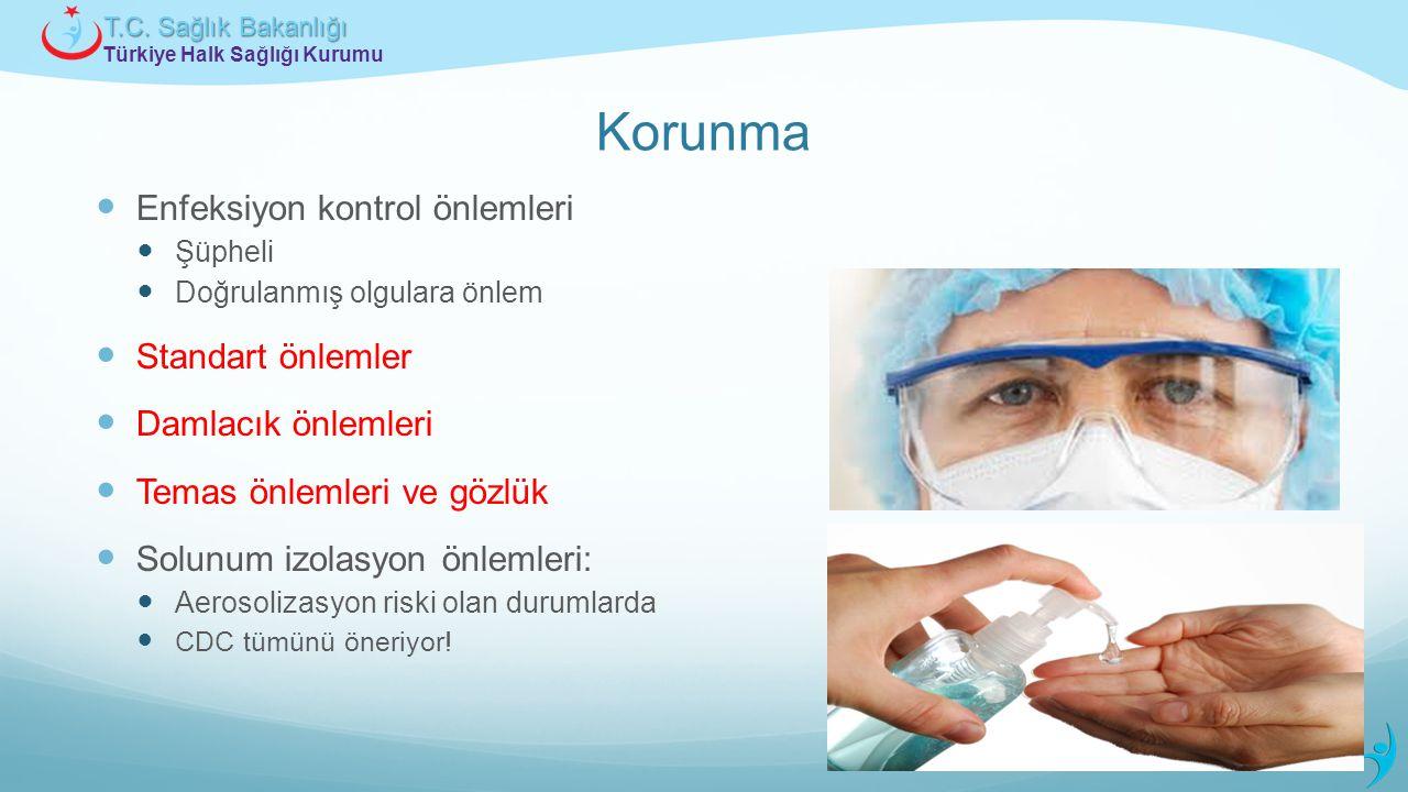 Korunma Enfeksiyon kontrol önlemleri Standart önlemler