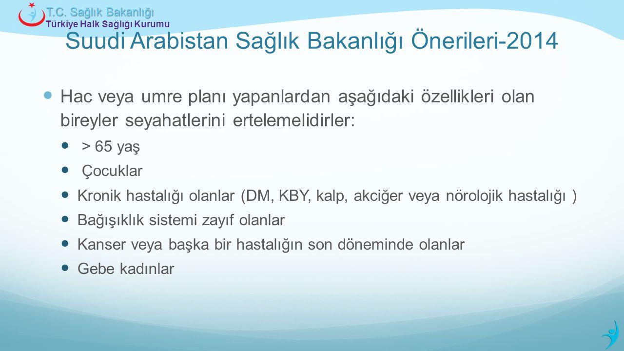 Suudi Arabistan Sağlık Bakanlığı Önerileri-2014