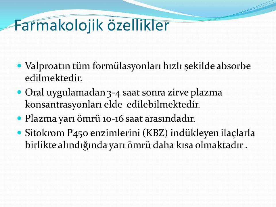 Farmakolojik özellikler