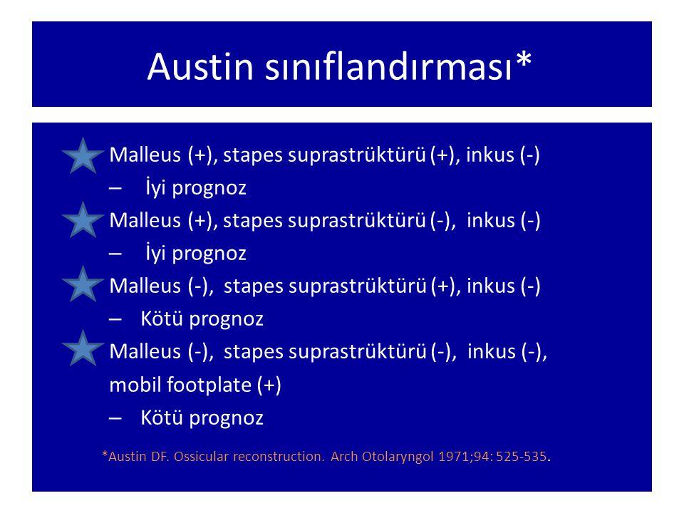 Austin sınıflandırması*