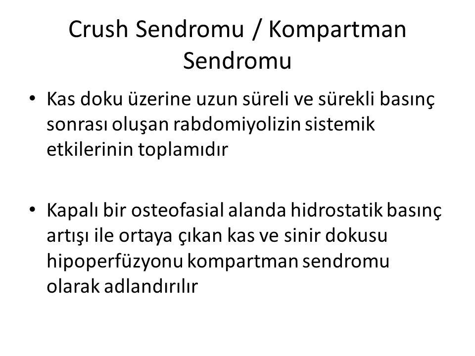 Crush Sendromu / Kompartman Sendromu