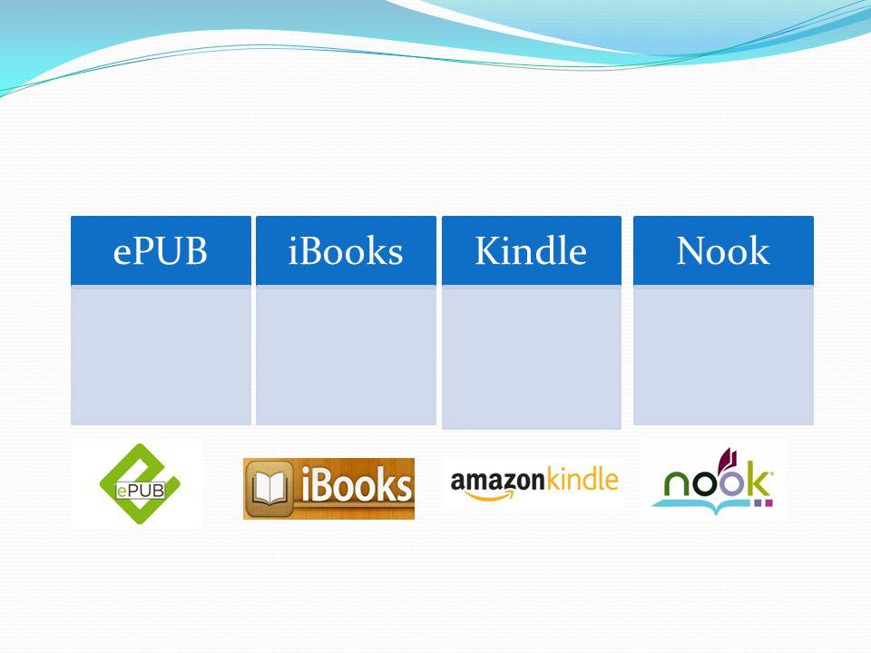ePUB iBooks Kindle Nook