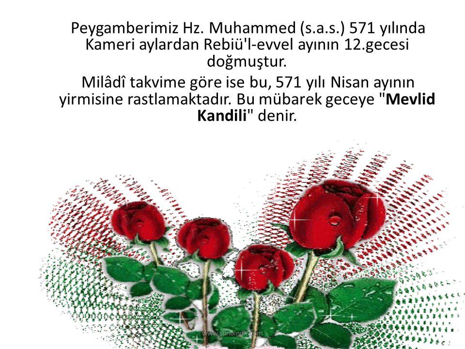 Peygamberimiz Hz. Muhammed (s. a. s