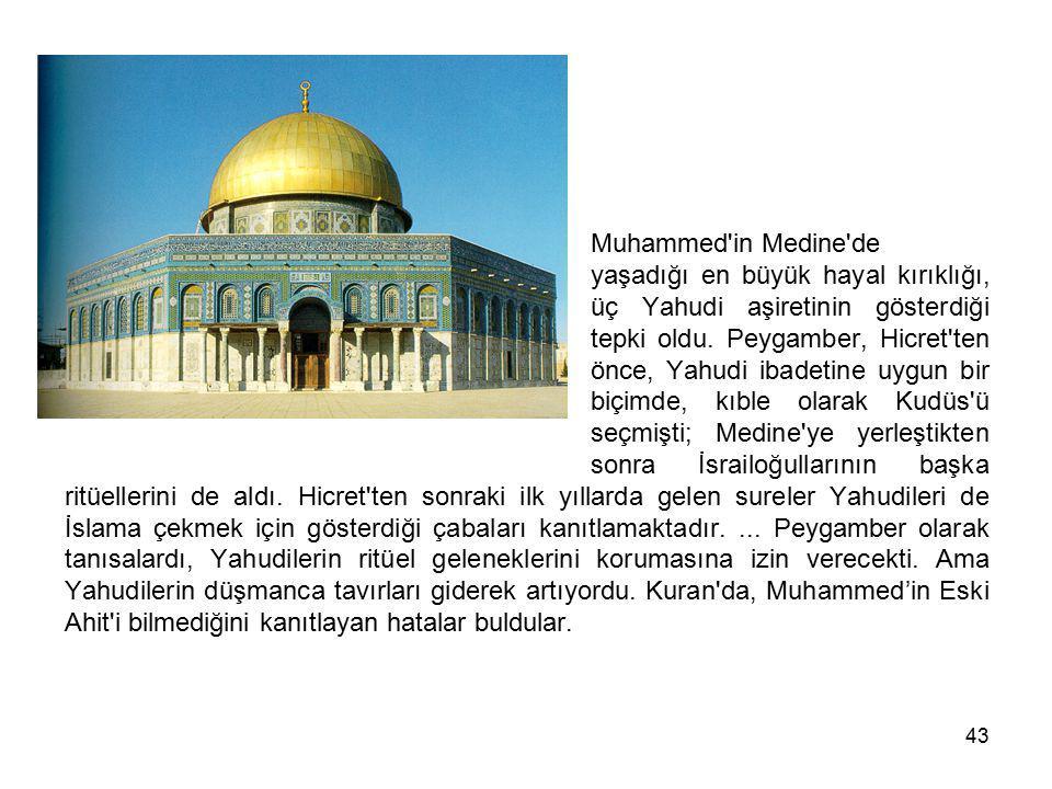 Muhammed in Medine de. yaşadığı en büyük hayal kırıklığı,