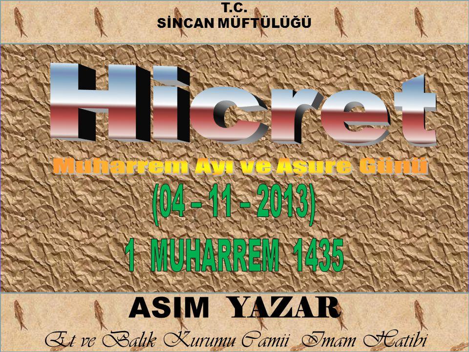 ASIM YAZAR Et ve Balık Kurumu Camii Imam Hatibi