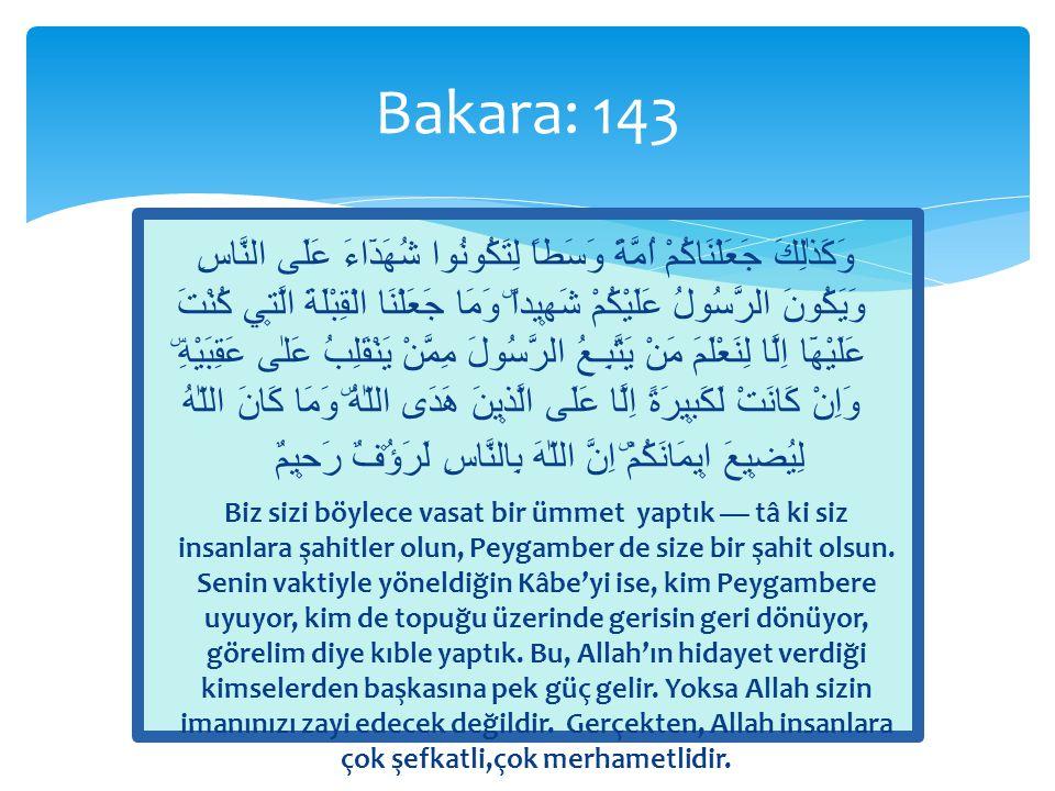 Bakara: 143