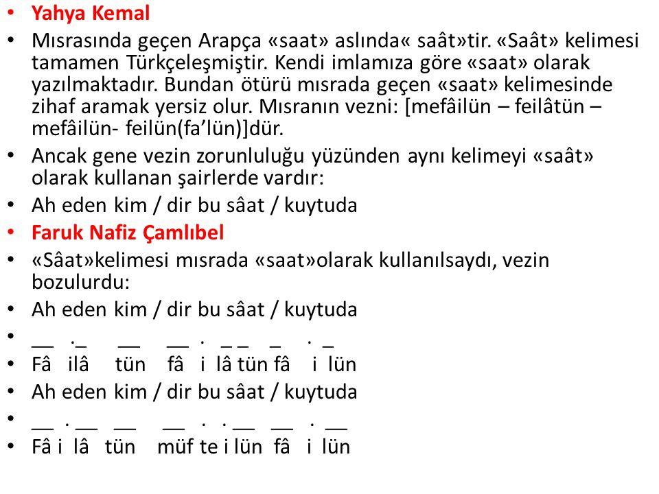 Yahya Kemal