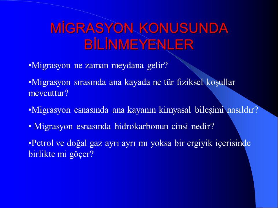MİGRASYON KONUSUNDA BİLİNMEYENLER