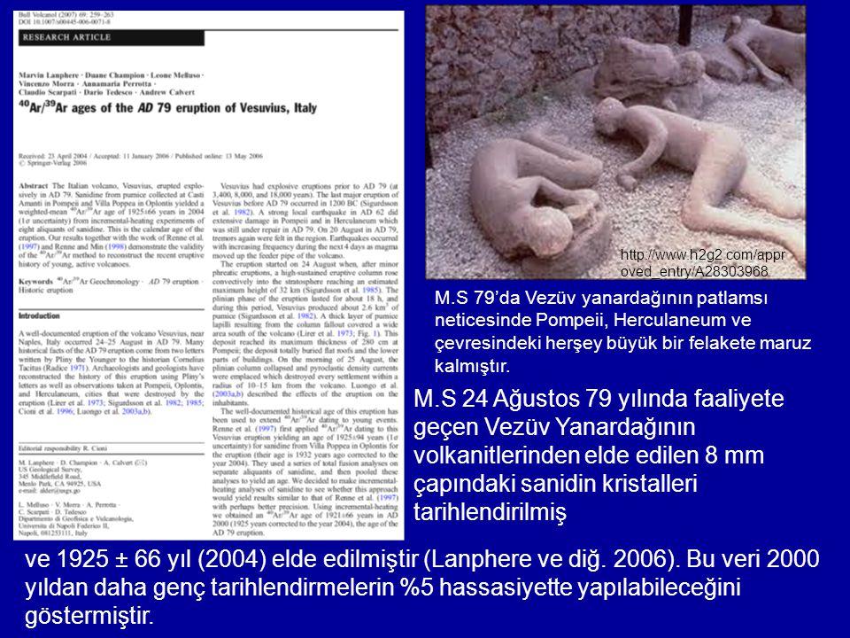 http://www.h2g2.com/approved_entry/A28303968 M.S 79'da Vezüv yanardağının patlamsı. neticesinde Pompeii, Herculaneum ve.