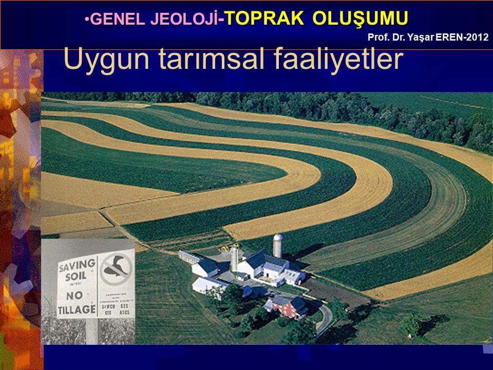 Uygun tarımsal faaliyetler