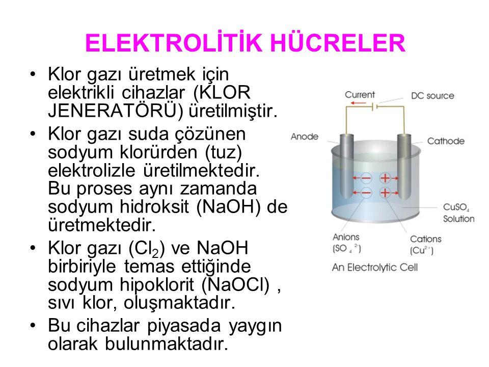 ELEKTROLİTİK HÜCRELER