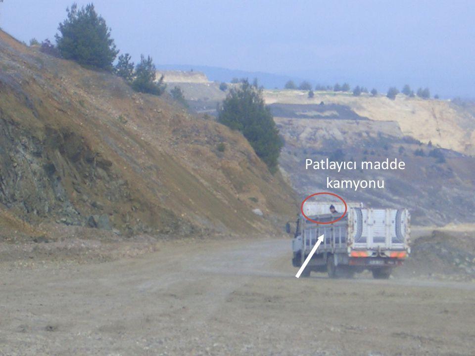 Patlayıcı madde kamyonu