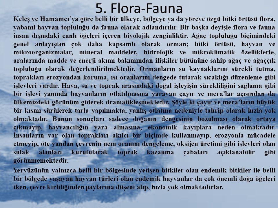 5. Flora-Fauna