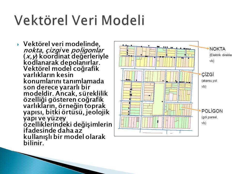 Vektörel Veri Modeli