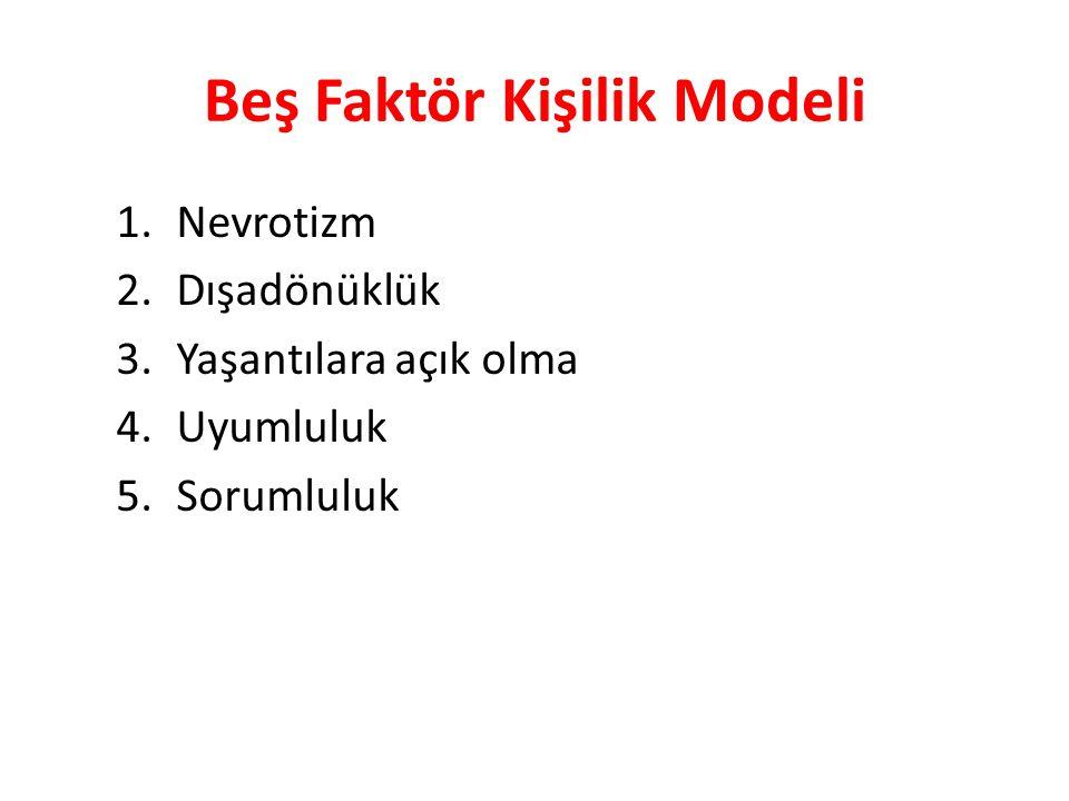 Beş Faktör Kişilik Modeli