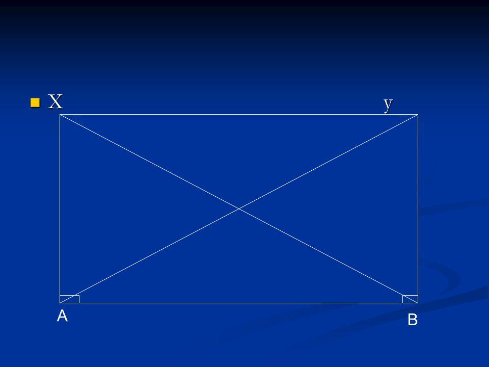 X y A B