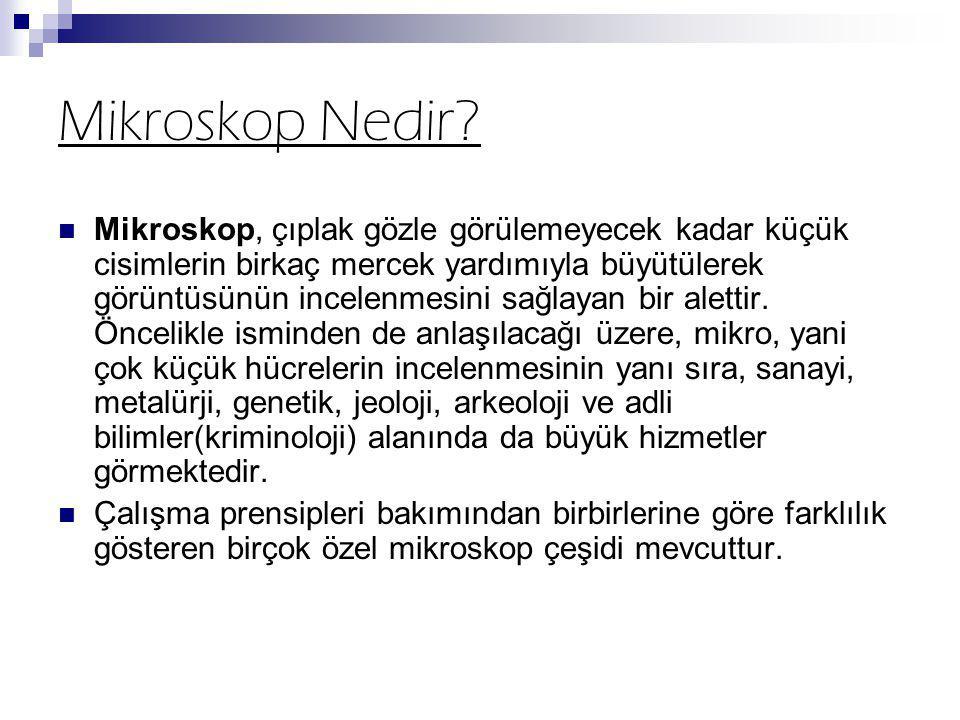 Mikroskop Nedir