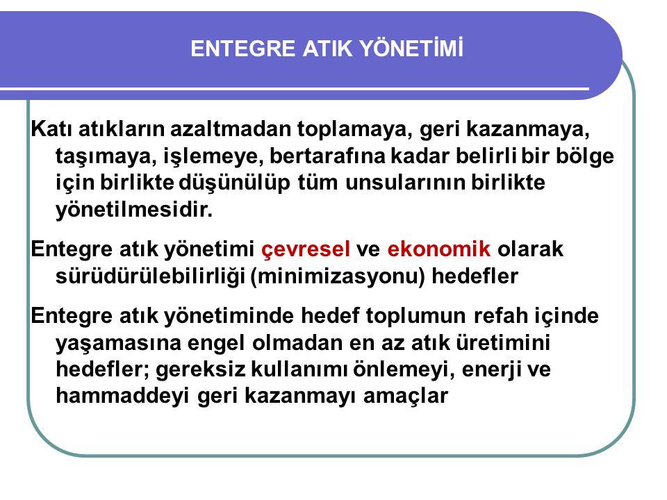 ENTEGRE ATIK YÖNETİMİ