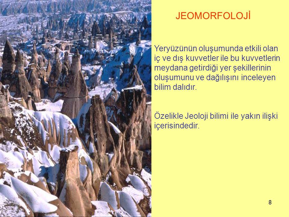 JEOMORFOLOJİ