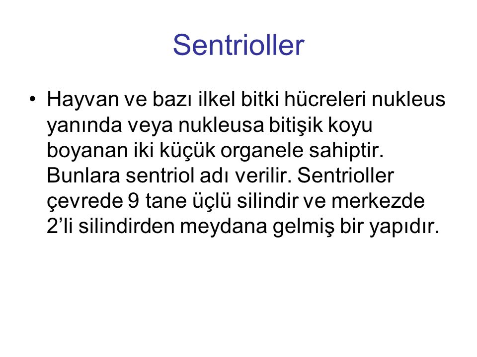 Sentrioller