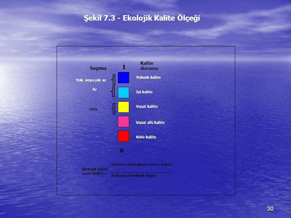 Şekil 7.3 - Ekolojik Kalite Ölçeği