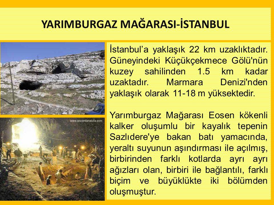 YARIMBURGAZ MAĞARASI-İSTANBUL