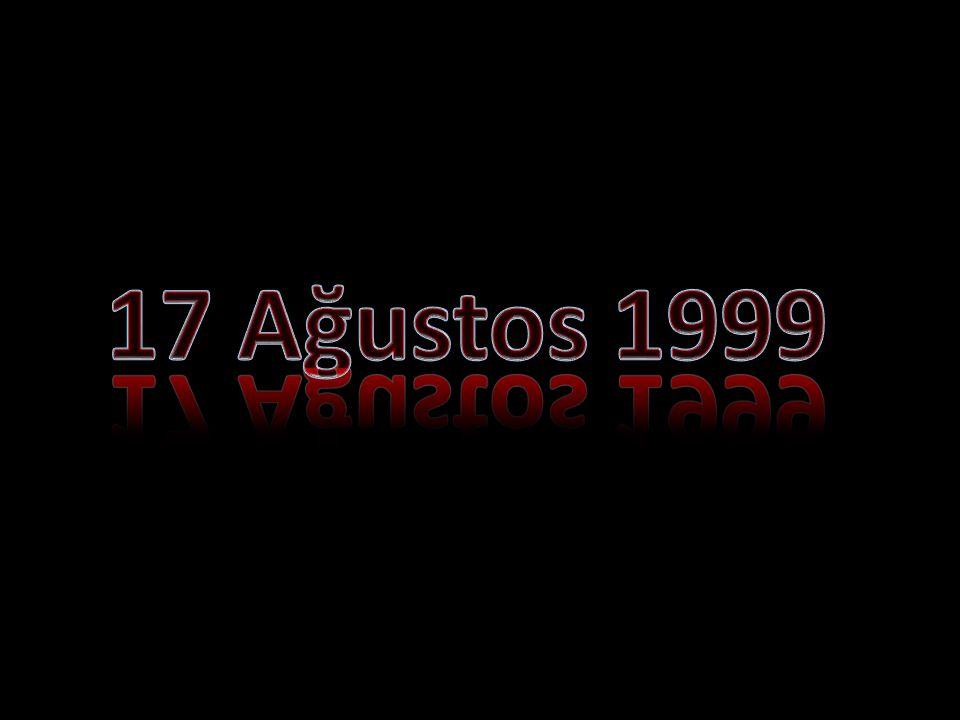 17 Ağustos 1999