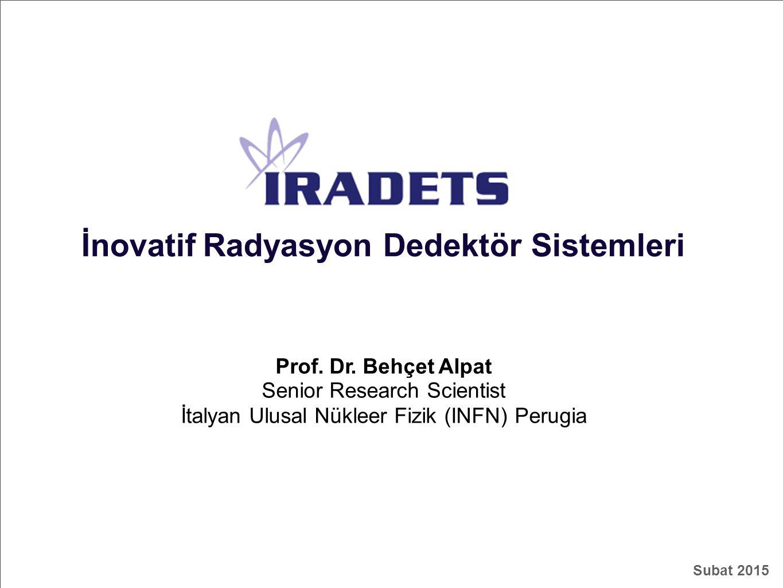 İnovatif Radyasyon Dedektör Sistemleri