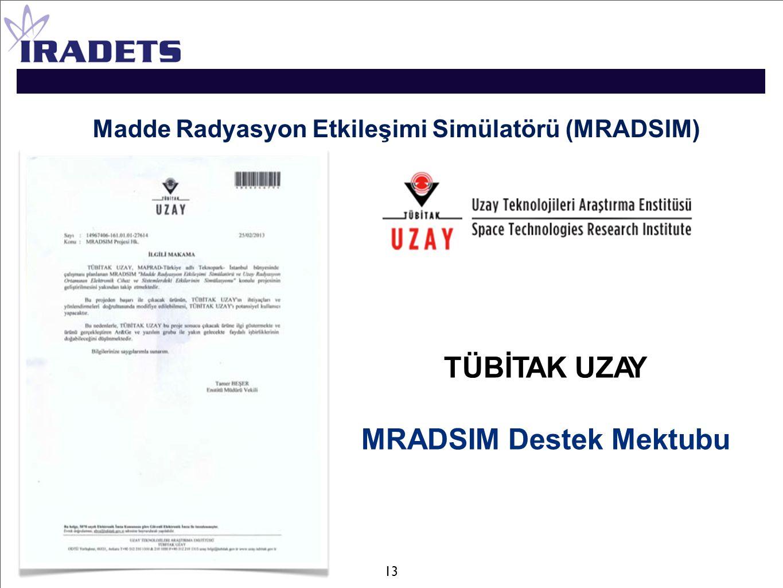 Madde Radyasyon Etkileşimi Simülatörü (MRADSIM)