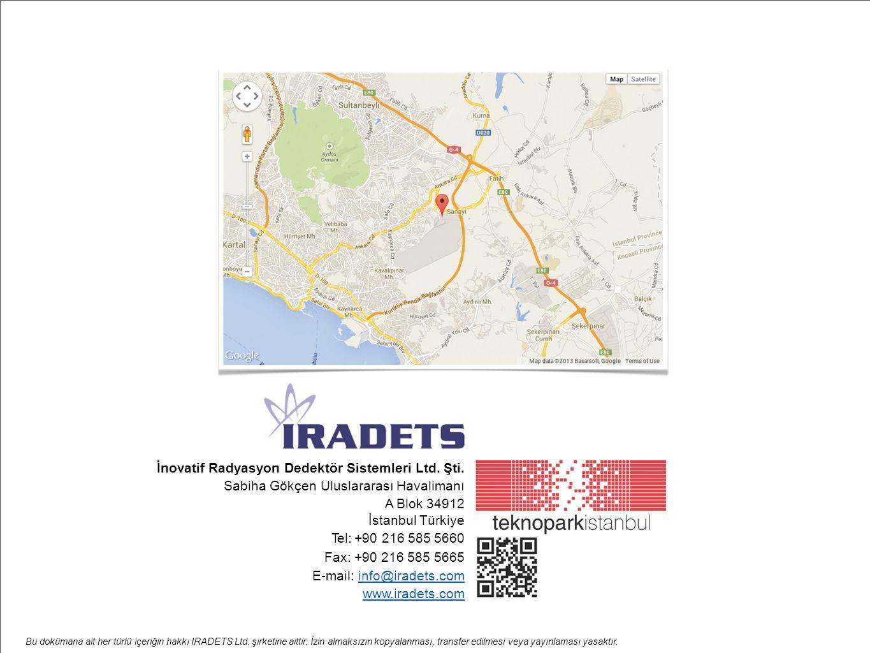 İnovatif Radyasyon Dedektör Sistemleri Ltd. Şti.
