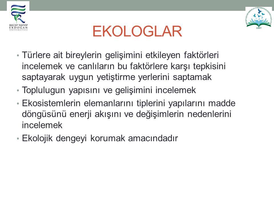 EKOLOGLAR