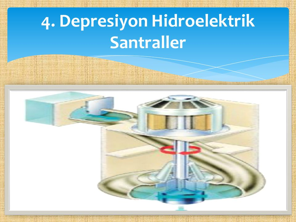 4. Depresiyon Hidroelektrik Santraller