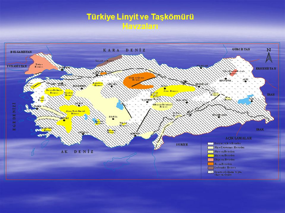 Türkiye Linyit ve Taşkömürü Havzaları